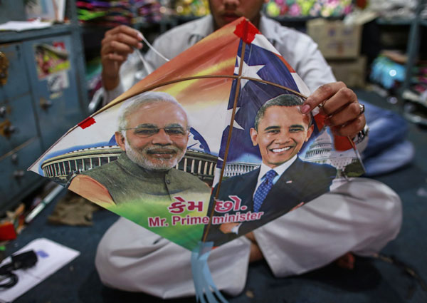 Expert: What Obama's India visit means to China