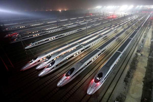 Now and then: China's high-speed rail revolution