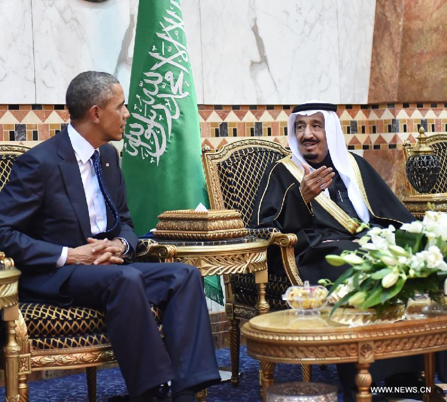 SAUDI ARABIA-RIYADH-US-PRESIDENT-VISIT