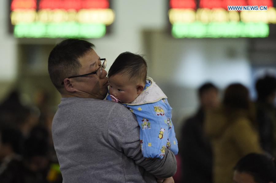 CHINA-ZHEJIANG-SPRING FESTIVAL-HOMECOMING (CN)
