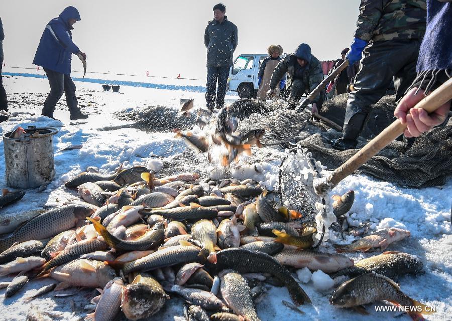 CHINA-JILIN-ICE FISHING(CN)