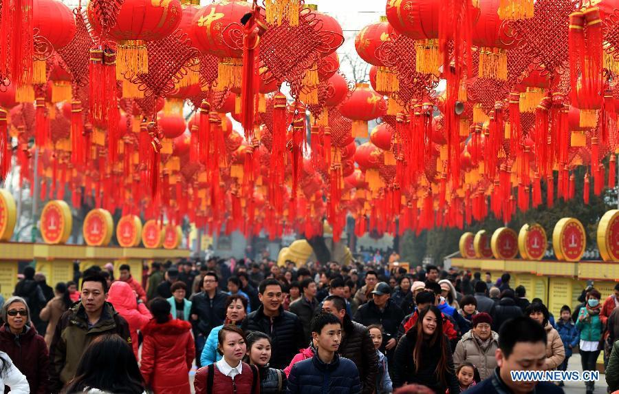 CHINA-BEIJING-TEMPLE FAIR (CN)