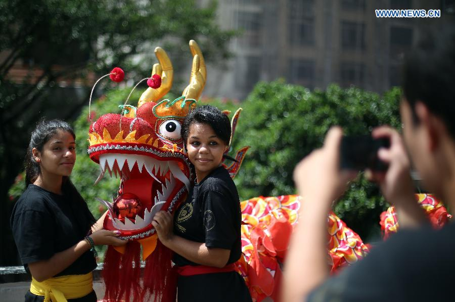 BRAZIL-SAO PAULO-CHINESE LUNAR NEW YEAR