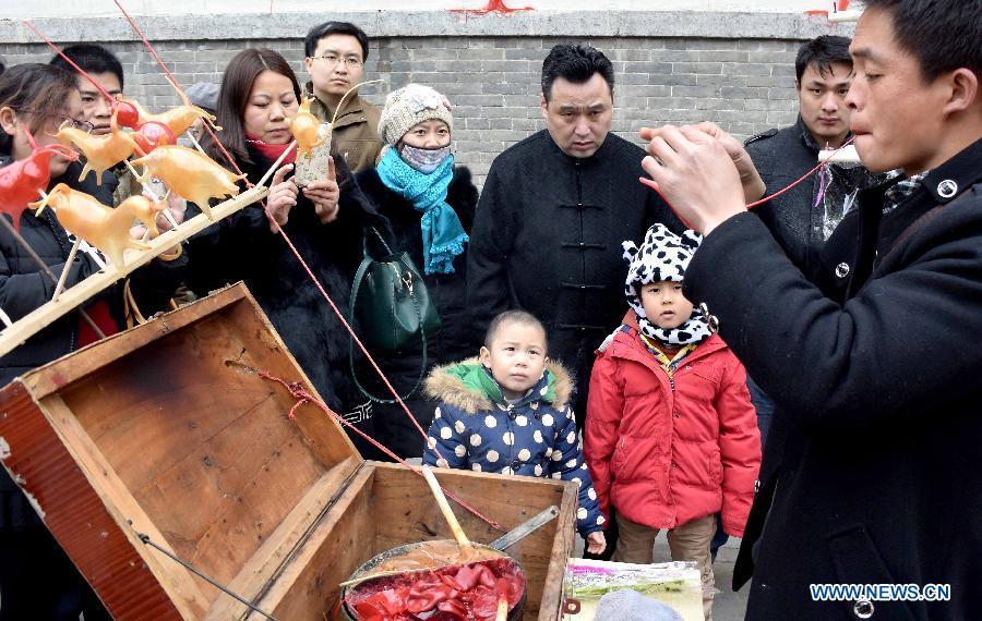 CHINA-HENAN-ZHENGZHOU-TEMPLE FAIR (CN)