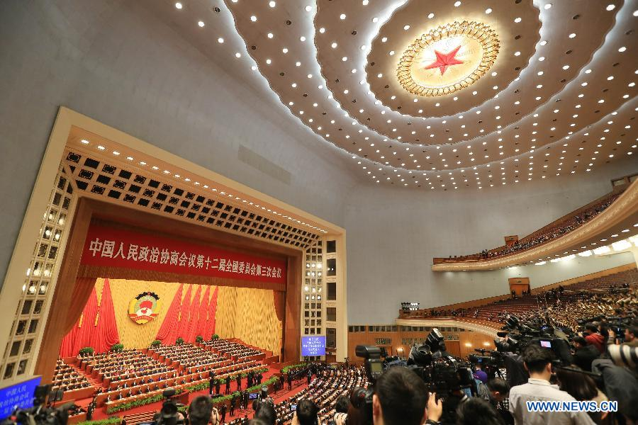 (TWO SESSIONS) CHINA-BEIJING-CPPCC-OPENING (CN)