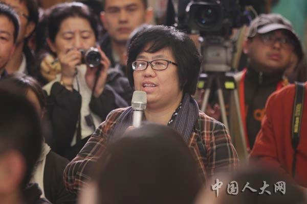 中国妇女报和中华女性网记者提问