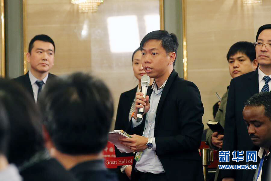 新加坡联合早报记者提问