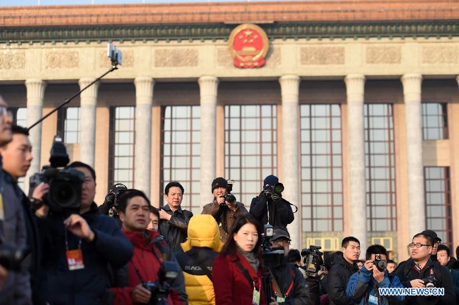 (TWO SESSIONS)CHINA-BEIJING-NPC-OPENING(CN)