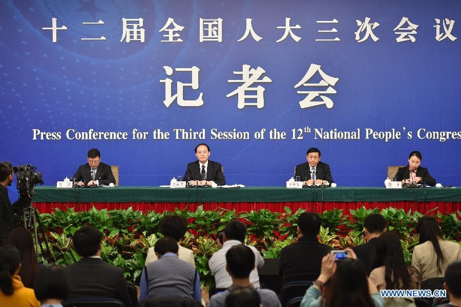 (TWO SESSIONS) CHINA-BEIJING-NPC-RURAL REFORM-PRESS CONFERENCE (CN)