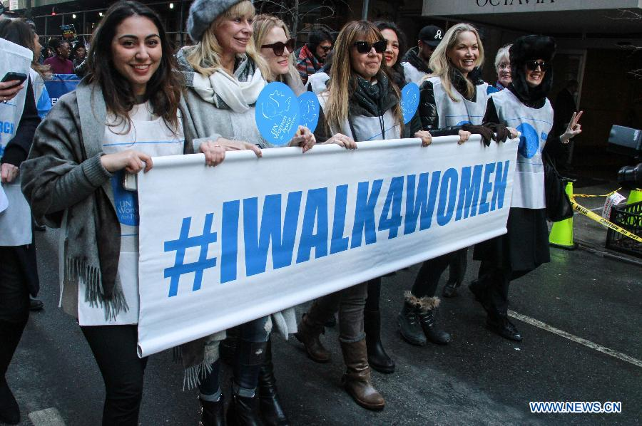 Int'l Women's Day March held in NYC