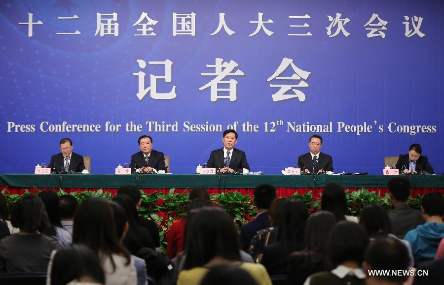 (TWO SESSIONS) CHINA-BEIJING-NPC-PRESS CONFERENCE-WORK SAFETY (CN)