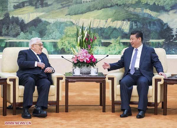 Xi recognizes Kissinger as 'trailblazer'