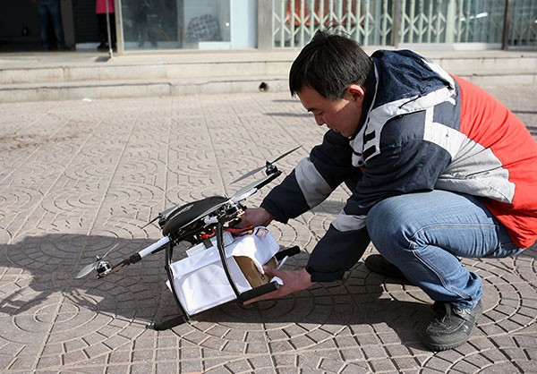 Makers of drones eye growth in civilian use