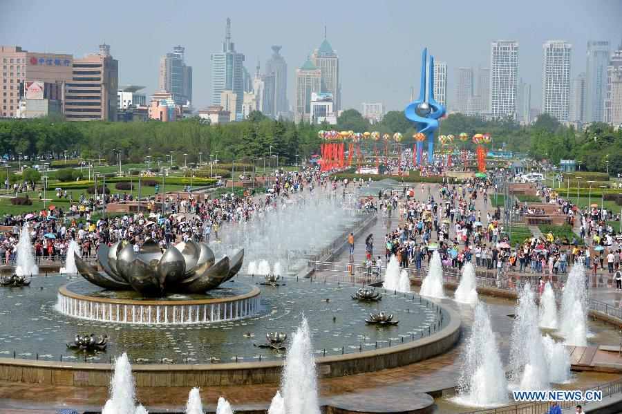 shandong receives over 28 mln tourists during may day holidays
