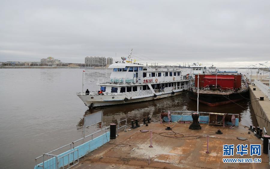 黑龙江黑河段恢复明水期客轮运输- Micro Rea