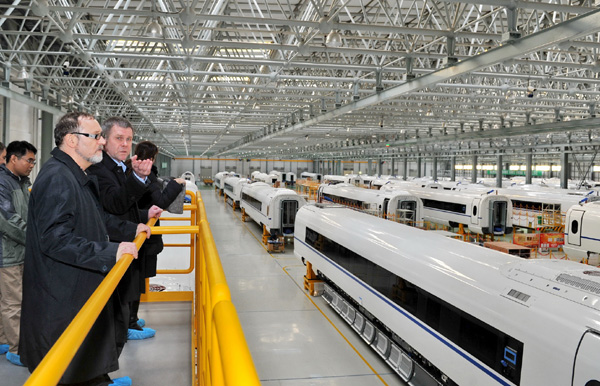 Rolling stock company forges ahead in Russia