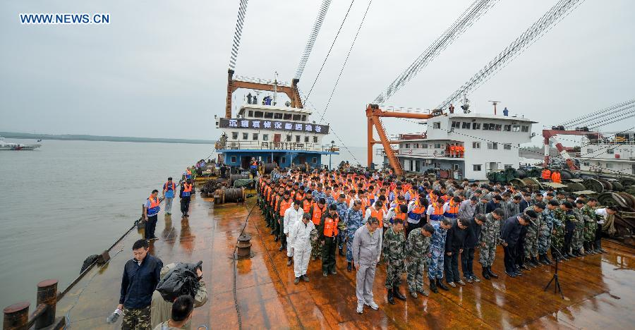 CHINA-JIANLI-CAPSIZED SHIP-MOURNING(CN)