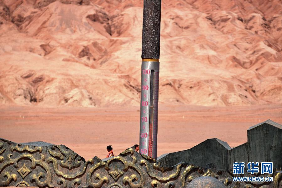 #(生态)(1)吐鲁番火焰山现高温