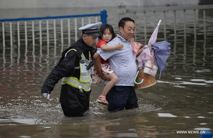 #CHINA-SHANGHAI-HEAVY RAIN(CN)