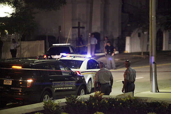 Shooting reported at church in Charleston, South Carolina
