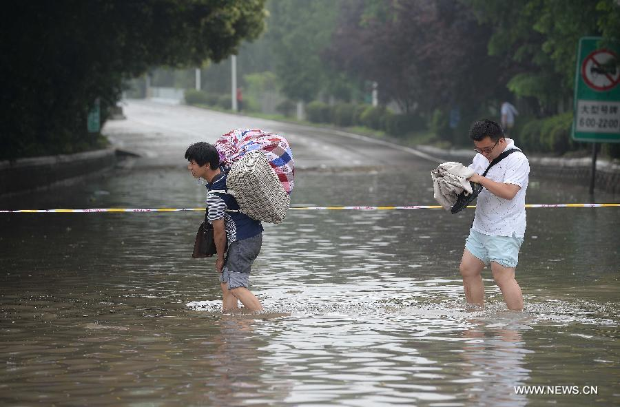 #CHINA-SHANGHAI-HEAVY RAIN(CN)