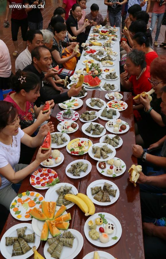#CHINA-DRAGON BOAT FESTIVAL-ZONGZI (CN)