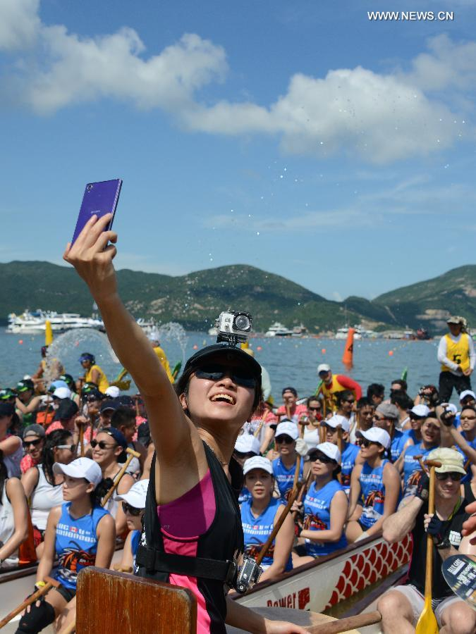 CHINA-HONG KONG-DRAGON BOAT FESTIVAL (CN)