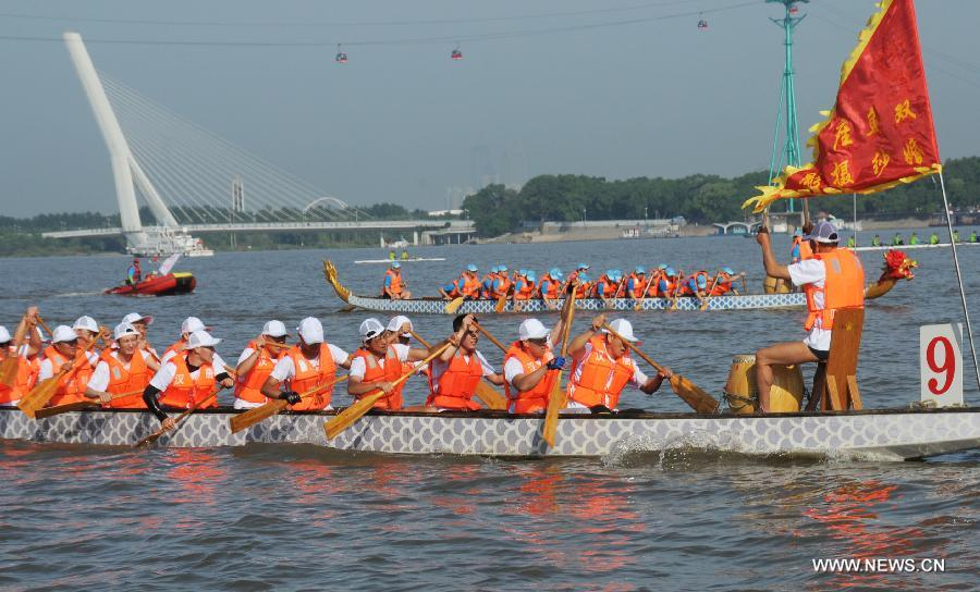 #CHINA-HEILONGJIANG-DRAGON BOAT RACE(CN)