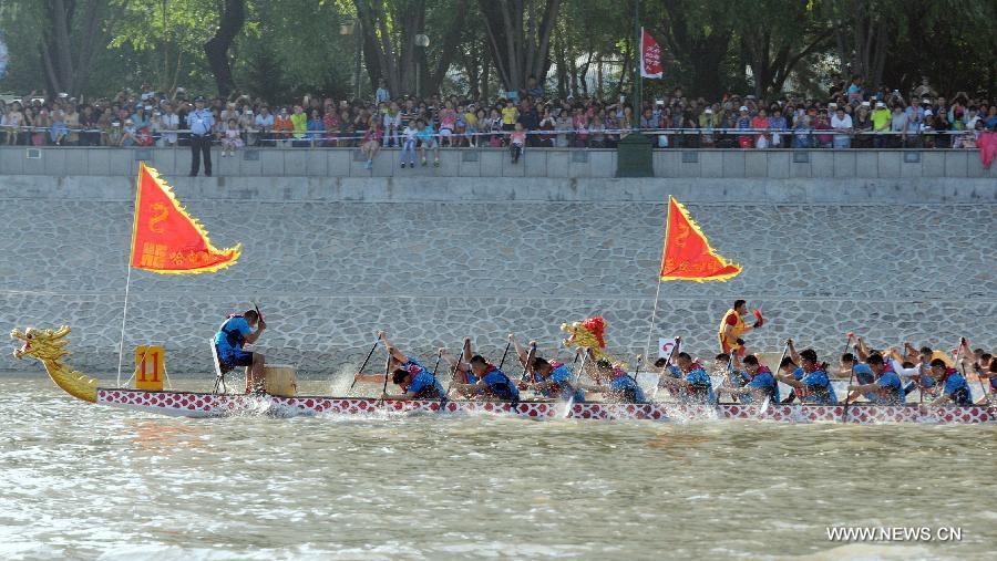#CHINA-HEILONGJIANG-DRAGON BOAT RACE(CN)