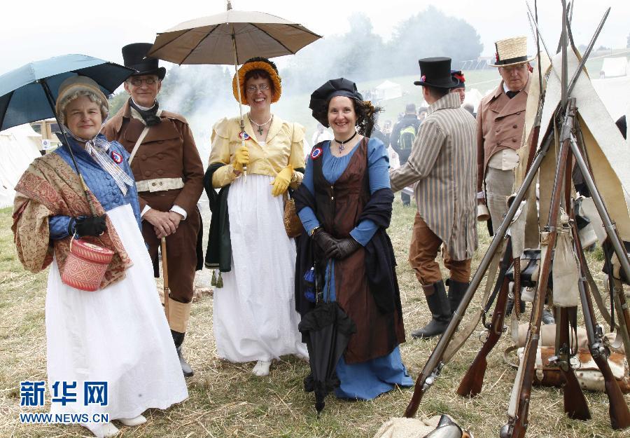 (国际)(1)滑铁卢:200年前的时装是啥样?