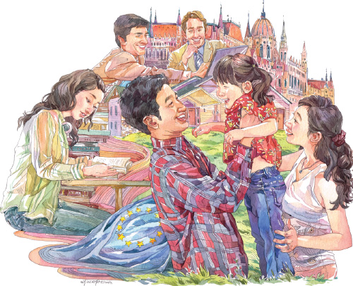 European life attracts Chinese