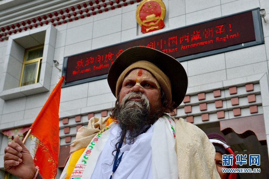 (社会)(2)中国新辟印度香客进藏朝圣线路