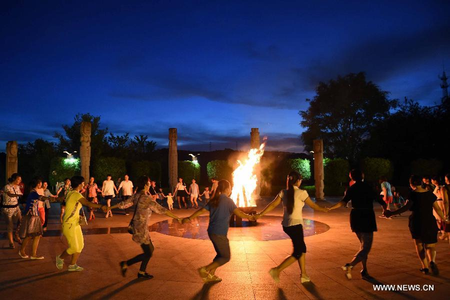 CHINA-YUNNAN-SUMMER SOLSTICE-CELEBRATION (CN)