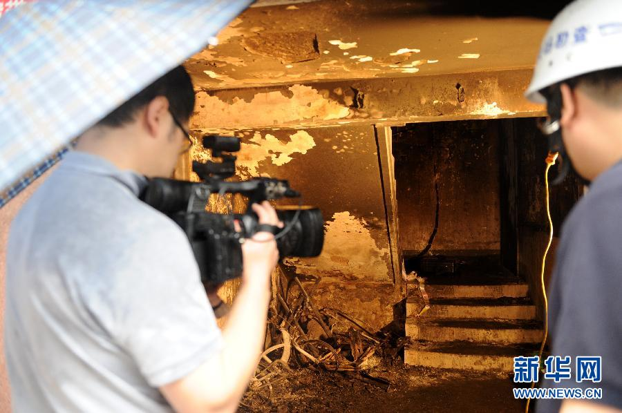 (突发事件)(2)河南郑州一小区发生火灾已致9死5伤