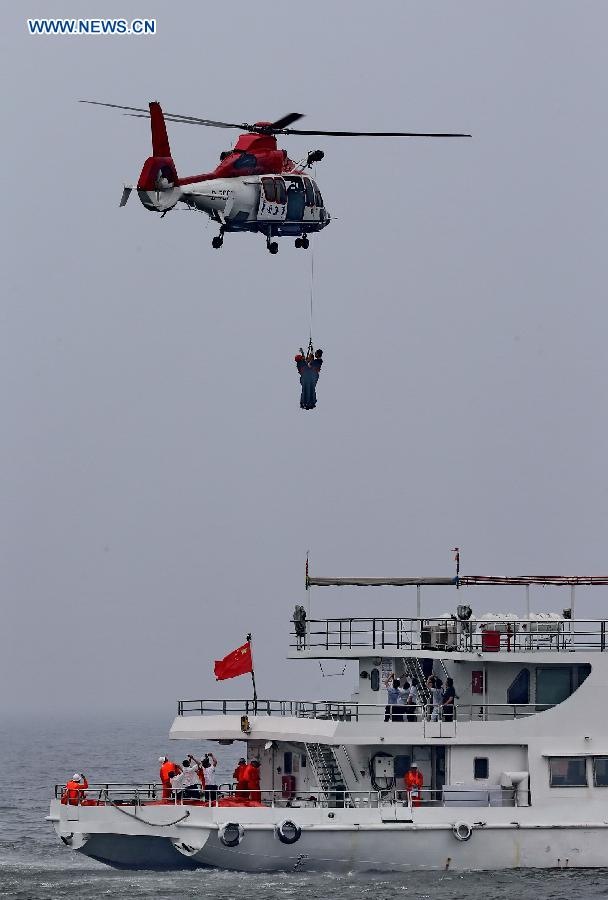 CHINA-HEBEI-SEA RESCUE DRILL (CN)