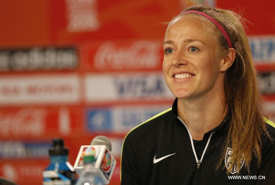 (SP)CANADA-OTTAWA-FIFA-WOMEN'S WORLD CUP-QUARTERFINALS-PRESS CONFERENCE-US