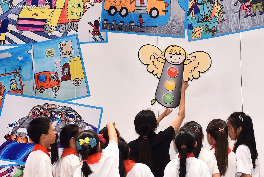 CHINA-BEIJING-CHILDREN-PAINTING COMPETITION (CN)