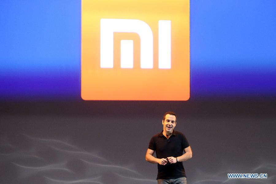 Xiaomi International Vice President Hugo Barra addresses the launch ceremony of Chinese smartphone manufacturer Xiaomi's operation in Brazil, in Sao Paulo June 30, 2015.