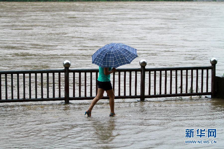 #(晚报)(2)福建南平遭洪水袭击