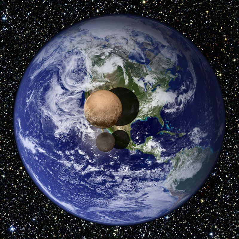 """NASA公布冥王星局部特写 """"冥王心""""命名为汤博【4】"""