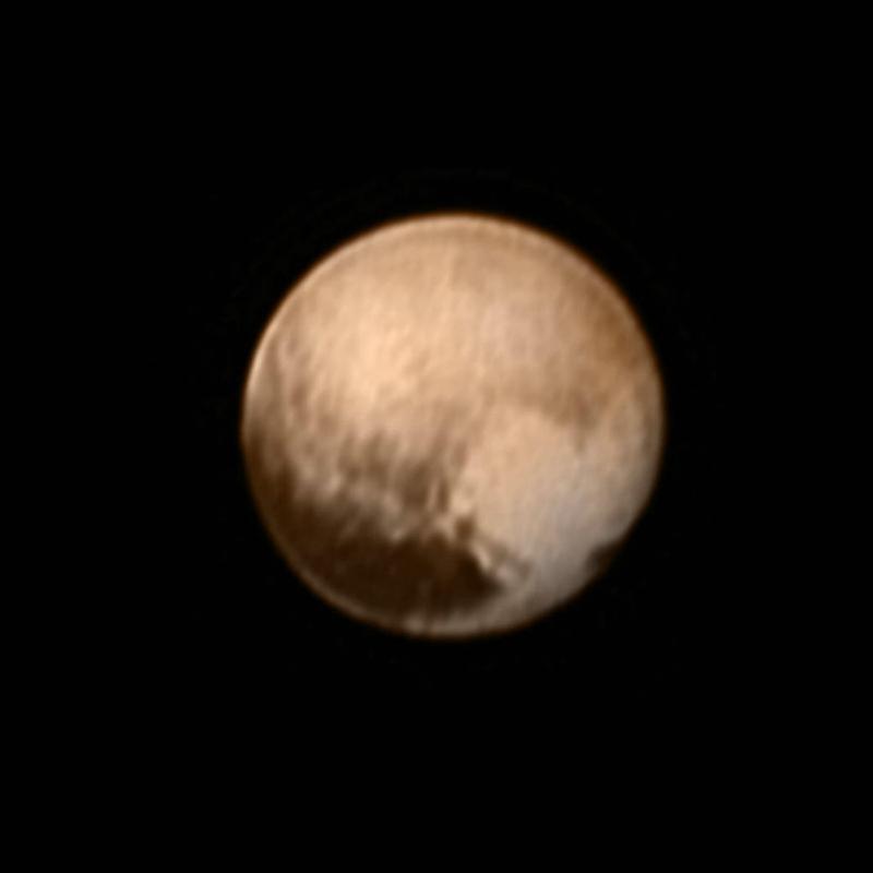 """NASA公布冥王星局部特写 """"冥王心""""命名为汤博【6】"""