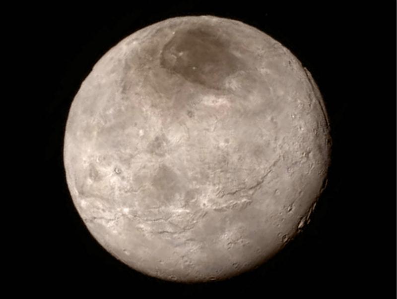 """NASA公布冥王星局部特写 """"冥王心""""命名为汤博【3】"""