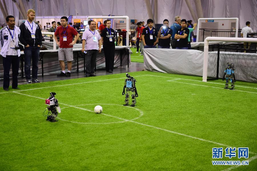 (科技)(1)第19届RoboCup机器人世界杯赛在合肥开赛