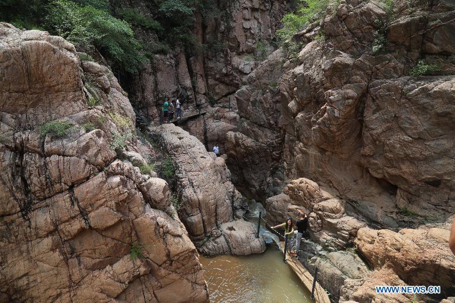 CHINA-HEBEI-SHIJIAZHUANG-GRAND CANYON(CN)