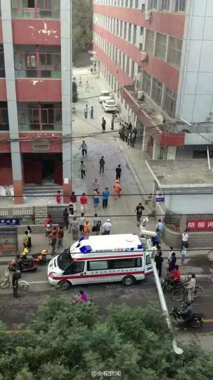 兰州大学施工现场闪爆 17人受伤15名为该校学生【9】