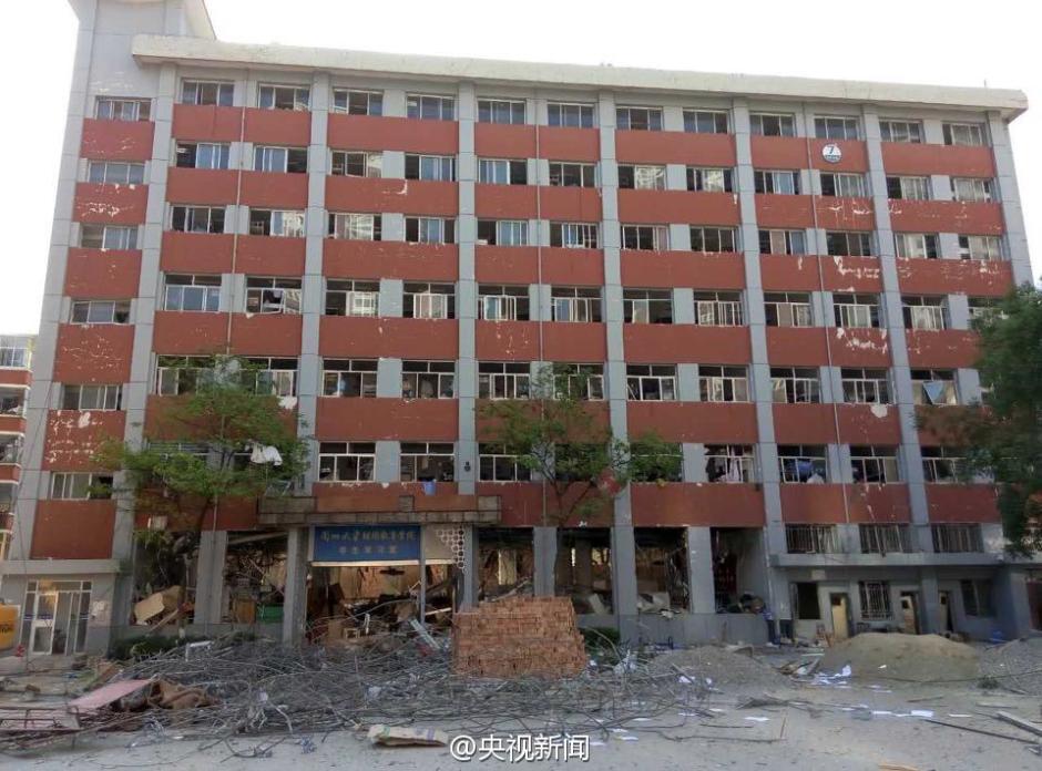 兰州大学施工现场闪爆 17人受伤15名为该校学生【5】