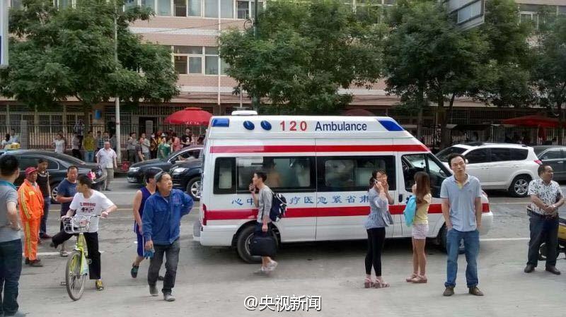 兰州大学施工现场闪爆 17人受伤15名为该校学生【8】