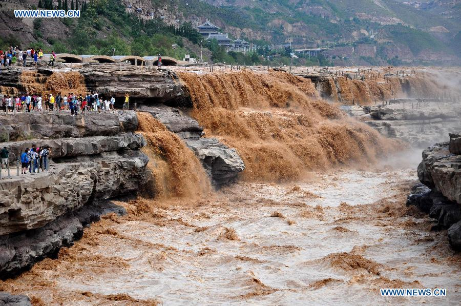 #CHINA-SHANXI-LINFEN-HUKOU WATERFALL (CN)