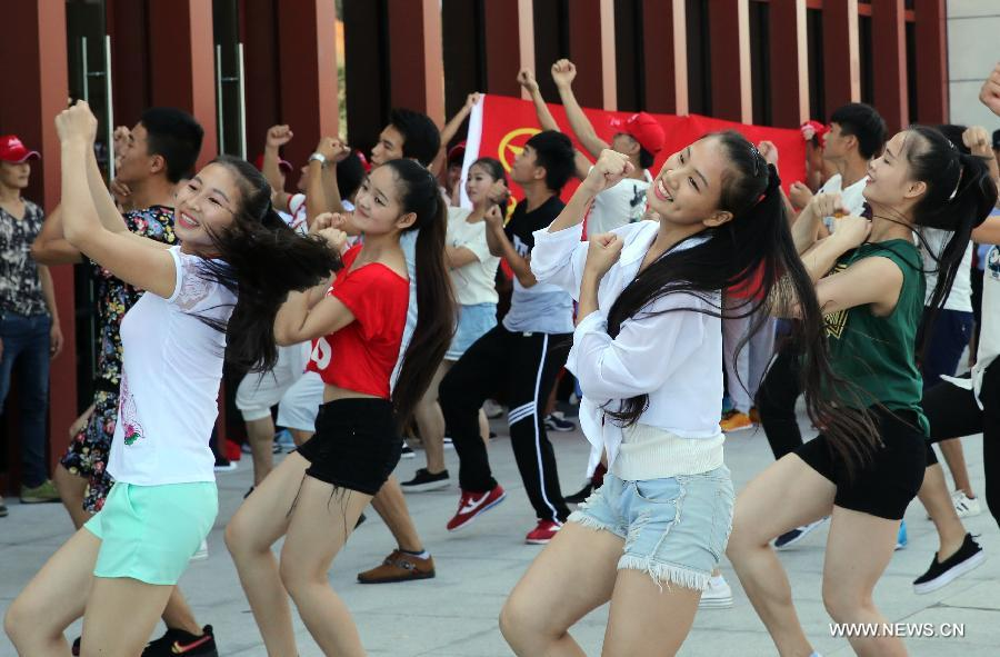 CHINA-FUJIAN-WUYISHAN-FLASH MOB (CN)