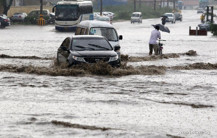 #CHINA-SHANDONG-WEIFANG-HEAVY RAIN (CN)